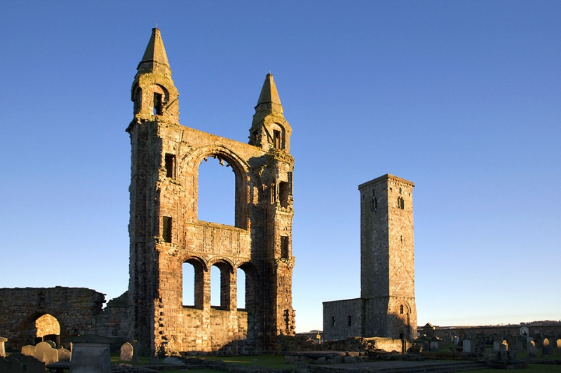 St Andrews Cathedral Ruin St Andrews Fife Scotland