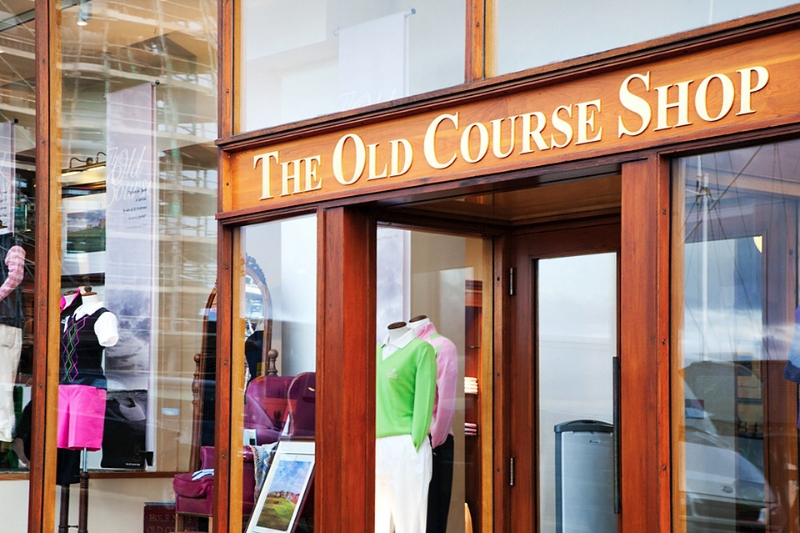 The Old Course Shop St Andrews Fife Scotland