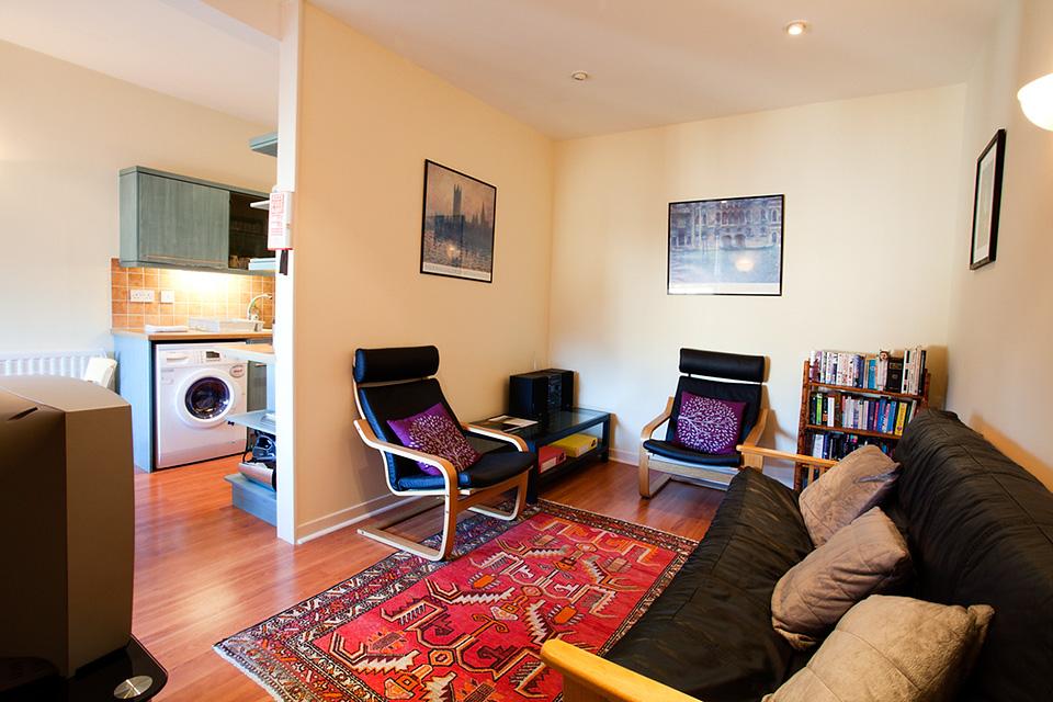 St Andrews Apartment Interior - Living Room