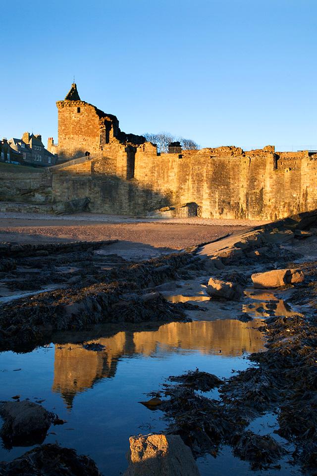 St Andrews Castle at Sunrise