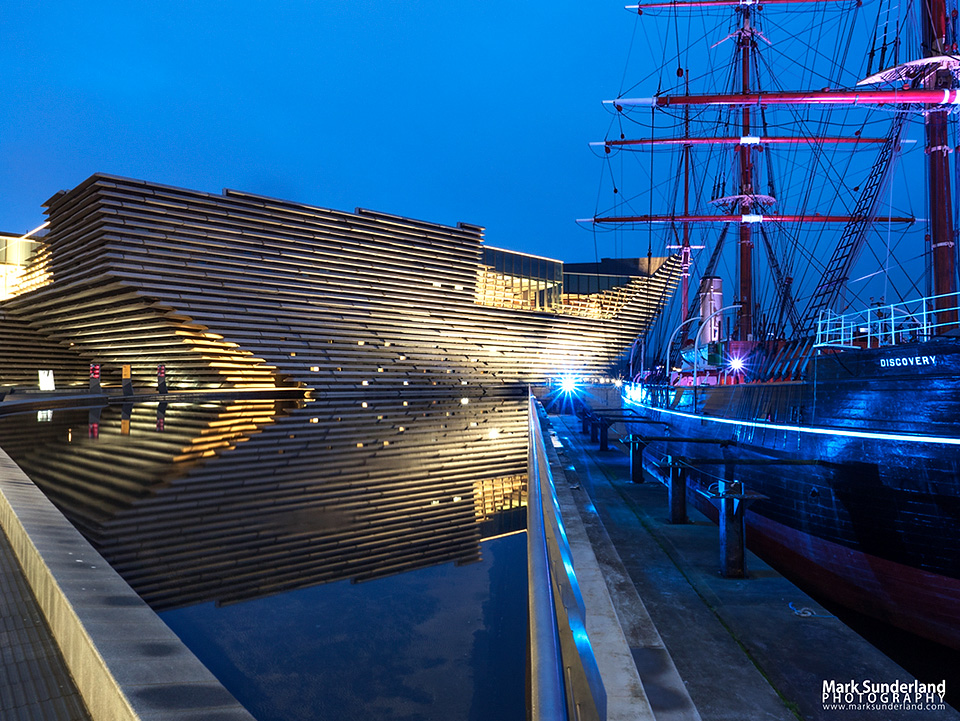 V&A Dundee design museum and RRS Discovery museum ship